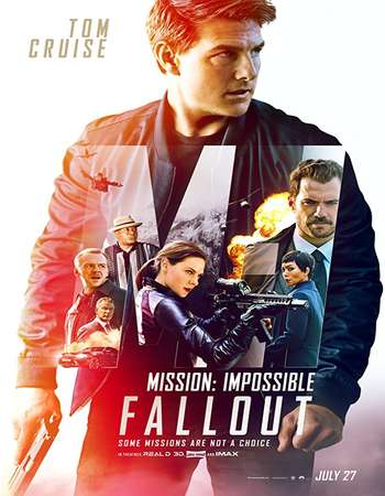 Mission Impossible Fallout 2018 Hindi ORG Dual Audio 700MB BluRay 720p ESubs HEVC