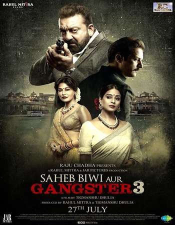 Saheb Biwi Aur Gangster 3 2018 Hindi 600MB HDRip 720p HEVC