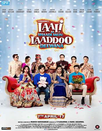 Laali Ki Shaadi Mein Laaddoo Deewana 2017 Full Hindi Movie 720p HEVC Download