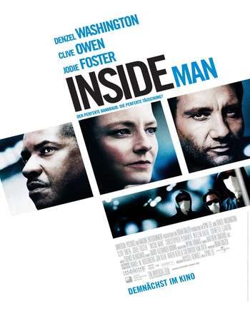 Inside Man 2006 Hindi Dual Audio BRRip Full Movie 720p HEVC Download