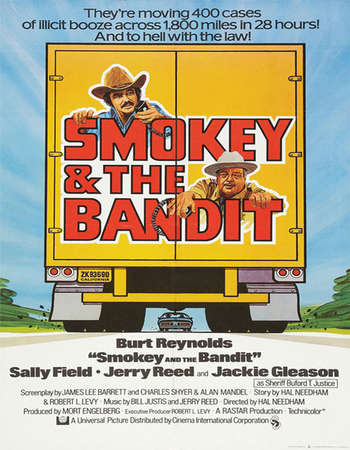 Smokey and the Bandit 1977 Hindi Dual Audio BRRip Full Movie 300mb Download