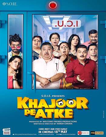 Khajoor Pe Atke 2018 Hindi 500MB DTHRip 720p HEVC