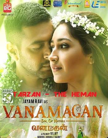 Vanamagan 2017 Dual Audio 720p UNCUT HDRip [Hindi – Tamil] ESubs