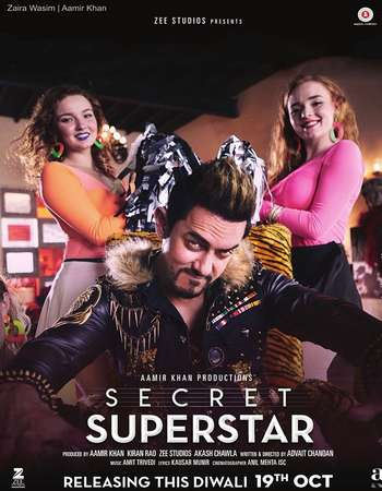 Secret Superstar 2017 Hindi 700MB BluRay 720p ESubs HEVC
