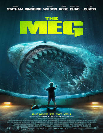 The Meg 2018 Hindi Dual Audio 550MB HC HDRip 720p HEVC