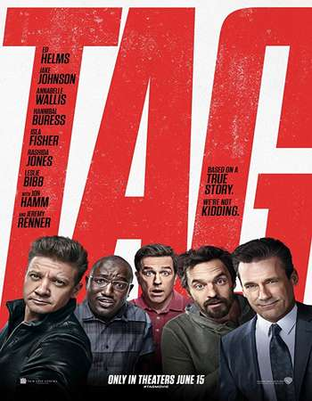 Tag 2018 English 720p BRRip 750MB ESubs