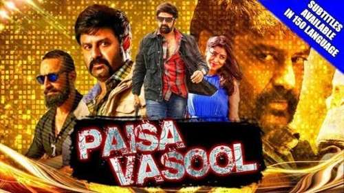 Paisa Vasool 2018 Hindi Dubbed 300MB HDRip 480p