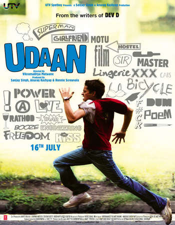 Udaan 2010 Full Hindi Movie BRRip 300mb Free Download