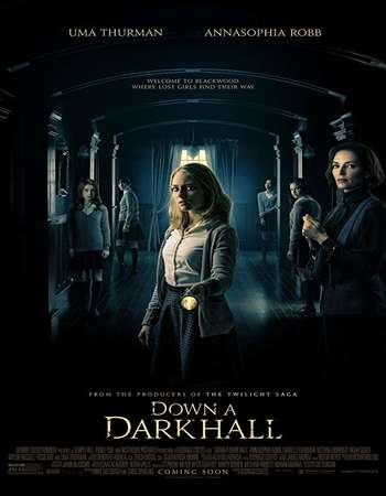 Down a Dark Hall 2018 English 300MB WEBRip 480p ESubs