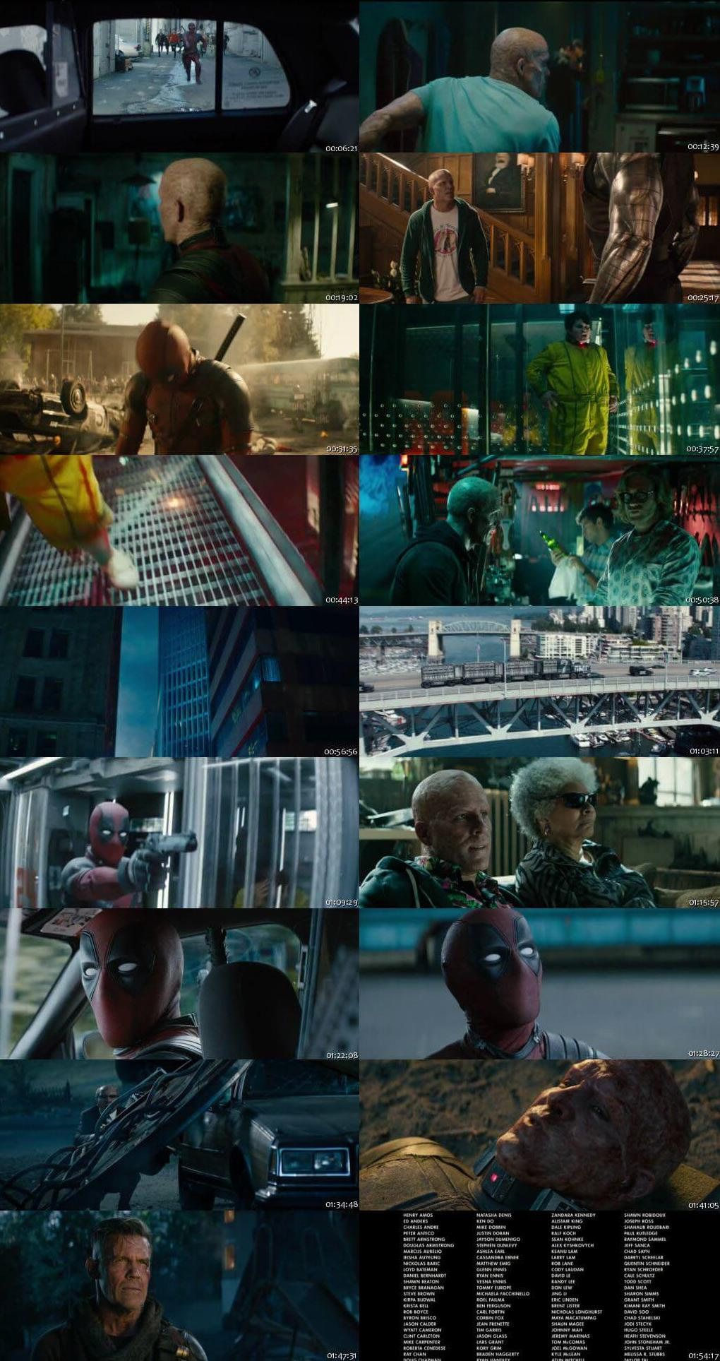 Deadpool 2 2018 English Full Movie Download