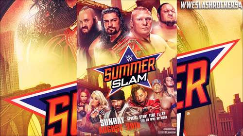 WWE SummerSlam 19th August 2018 Full Show 480p Free Download