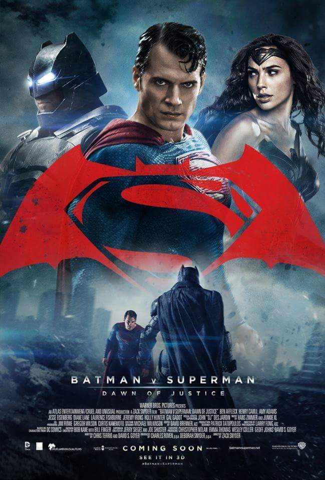 Batman v Superman Dawn of Justice 2016 Extended Dual Audio 480p 400MB BluRay