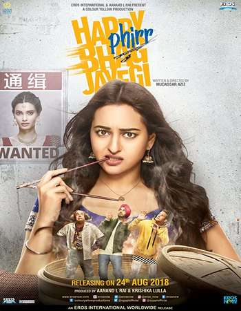 Happy Phirr Bhag Jayegi 2018 Full Hindi Movie 720p Free Download