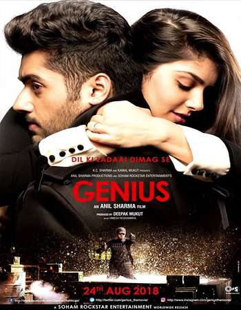 Genius 2018 Hindi 650MB HDRip 720p HEVC