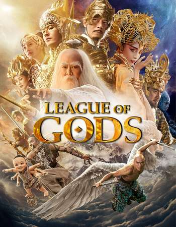 League of Gods 2016 Hindi Dual Audio BRRip Full Movie 720p HEVC Download