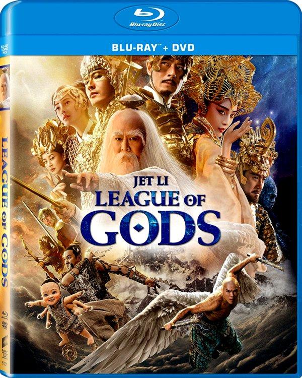 League of Gods (2016) 1080p BluRay  Dual Audio [Hindi-English]