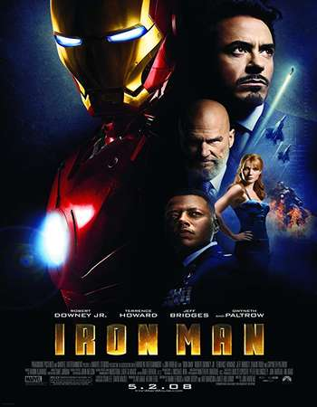 Iron Man 2008 Hindi Dual Audio BRRip Full Movie 300mb Download