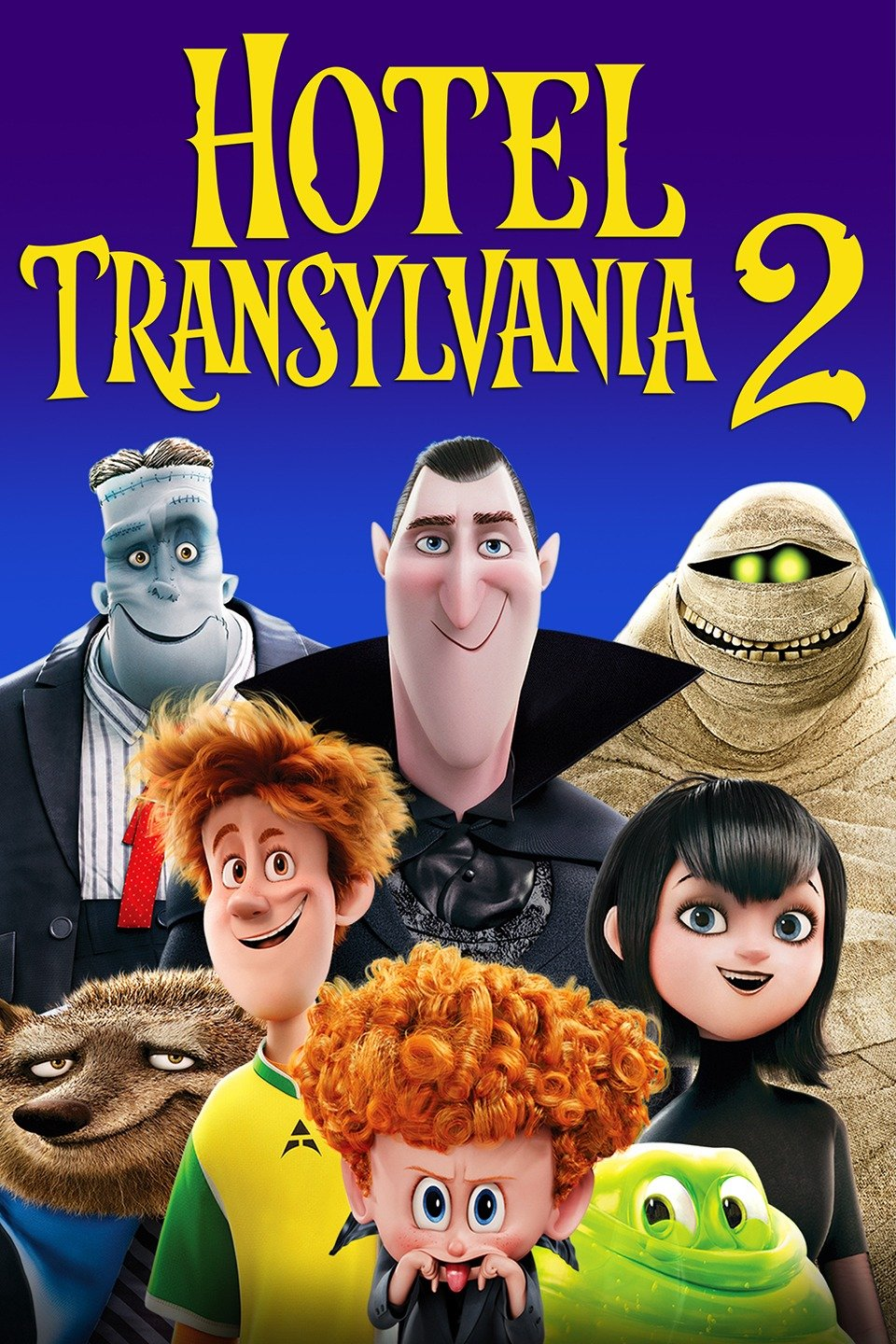 Hotel Transylvania 2 2015 Dual Audio [Hindi – English] 720p 990MB BRRip