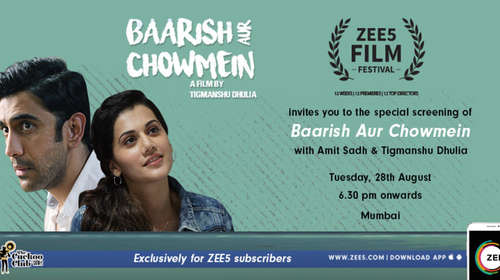 Baarish Aur Chowmein 2018 Hindi 150MB HDRip 480p x264 HC ESubs