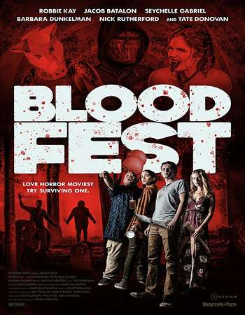 Blood Fest 2018 English 280MB Web-DL 480p ESubs