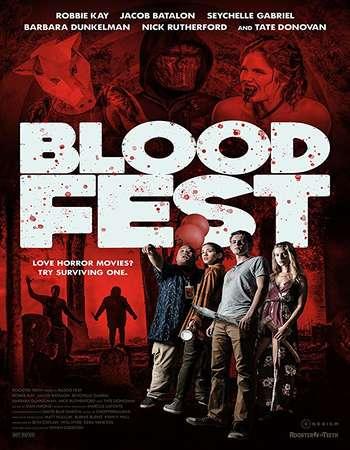 Blood Fest 2018 English 280MB Web-DL 480p ESubs
