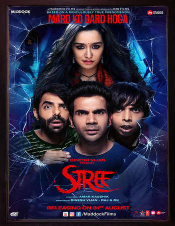 Stree 2018 Hindi 350MB HDRip 480p