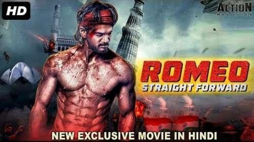 Romeo Straight Forward 2018 Hindi Dubbed Full Movie 300mb Download