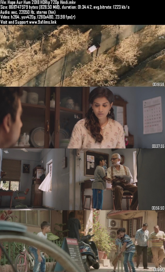 Hope Aur Hum 2018 HDRip 720p Hindi 800MB