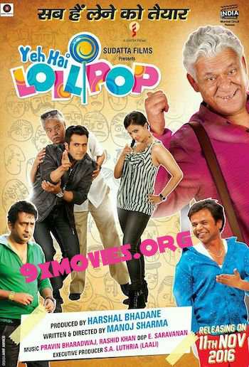 Yeh Hai Lollipop 2016 Hindi 720p HDTV 950mb