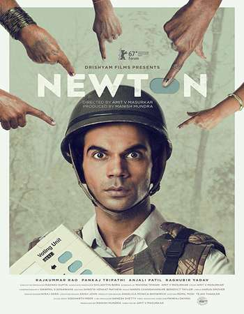 Newton 2017 Full Hindi Movie BRRip 720p HEVC Free Download