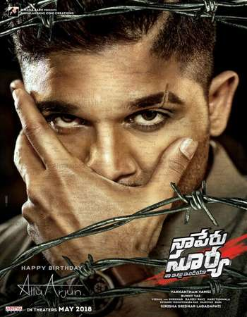 Naa Peru Surya 2018 Hindi Dual Audio 500MB UNCUT HDRip 480p
