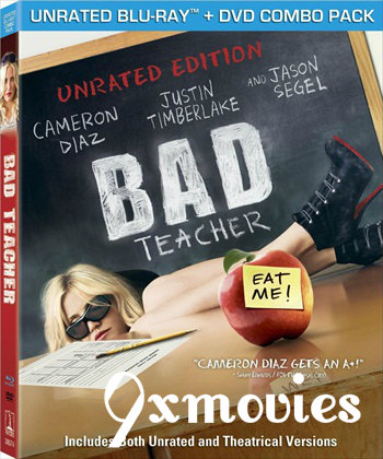 Bad Teacher 2011 Dual Audio Hindi UNRATED BluRay Movie Download