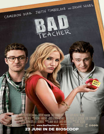 Bad Teacher 2011 Hindi Dual Audio BRRip Full Movie 300mb Download