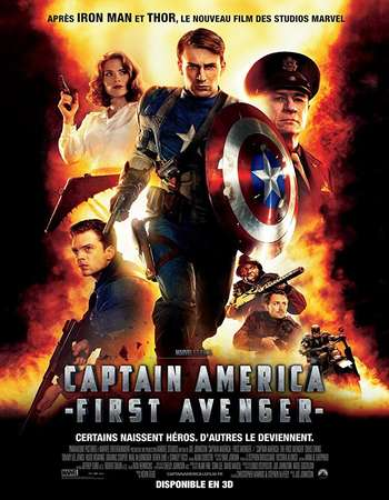 Captain America The First Avenger 2011 Hindi ORG Dual Audio 650MB BluRay 720p ESubs HEVC