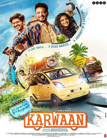 Karwaan 2018 Full Hindi Movie 720p Free Download