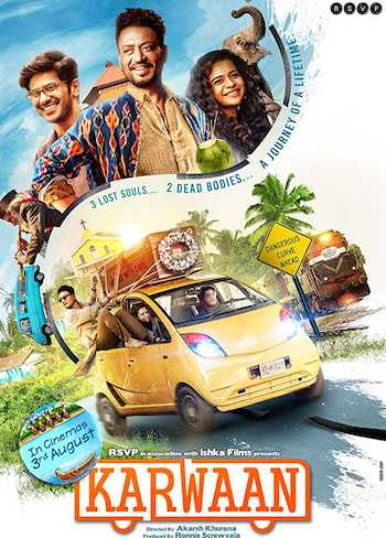 Karwaan 2018 Hindi pDVDRip x264 700MB