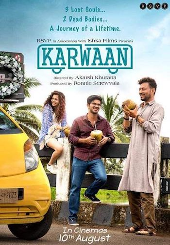 Karwaan 2018 pDVDRip Hindi 700MB