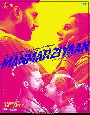 Manmarziyaan 2018 HDRip Hindi 480p 300mb