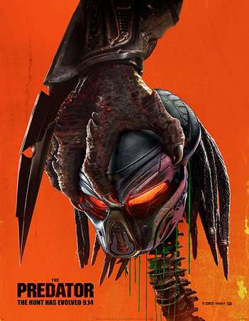 The Predator 2018 ORG Dual Audio Hindi 350MB BluRay 480p x264 ESubs