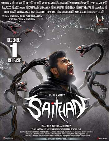 Saithan 2016 Hindi Dual Audio 720p UNCUT HDRip x264