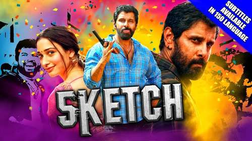 Sketch 2018 Hindi Dubbed 300MB HDRip 480p