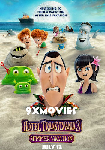Hotel Transylvania 3 2018 Dual Audio Hindi 720p HDRip 800mb