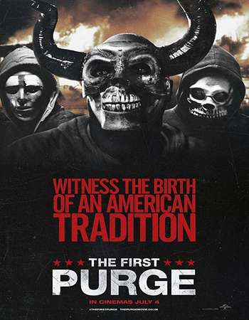 The First Purge 2018 English 720p Web-DL 750MB ESubs