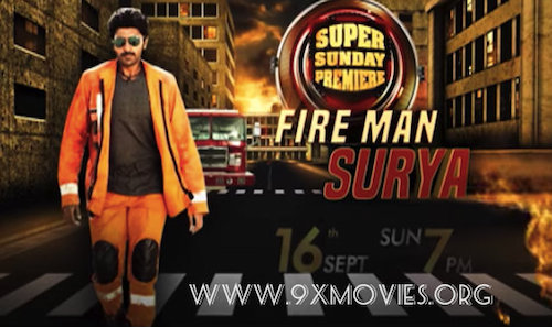 Fireman Surya 2018 Hindi Dubbed 720p HDRip 850mb