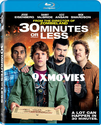 30 Minutes or Less 2011 Dual Audio Hindi 720p BluRay 750mb