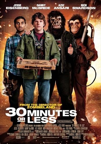 30 Minutes or Less 2011 Dual Audio Hindi 300MB Movie Download