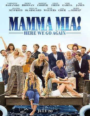 Mamma Mia Here We Go Again 2018 English 300MB HC HDRip 480p