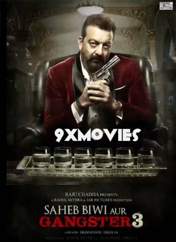 Saheb Biwi Aur Gangster 3 (2018) Hindi 720p HDRip 990mb