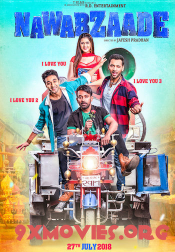 Nawabzaade 2018 Hindi 720p HDRip 800mb
