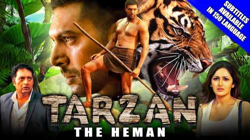 Tarzan The Heman 2018 Hindi Dubbed 300MB HDRip 480p